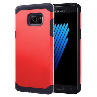 Microsonic Samsung Galaxy Note 7 Kılıf Slim Fit Dual Layer Armor Kırmızı Cep Telefonu Kılıfı