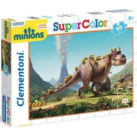 Clementoni 60 Parça Çocuk  Dinozor Minions Puzzle