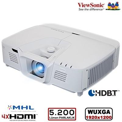 Viewsonic Pro8800wul Wuxga 1920x1200 5.200al 4xhdmı, Ops. Hdbaset Ve Kablosuz, Prof. Kurulum Özel Uygulama Projeksiyon Projeksiyon Cihazı
