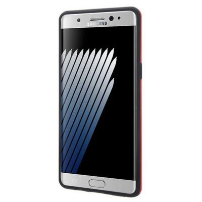 Microsonic Samsung Galaxy Note 7 Kılıf Slim Heavy Duty Kırmızı Cep Telefonu Kılıfı