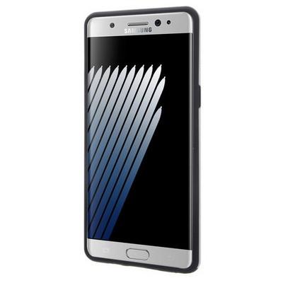 Microsonic Samsung Galaxy Note 7 Kılıf Slim Heavy Duty Gümüş Cep Telefonu Kılıfı