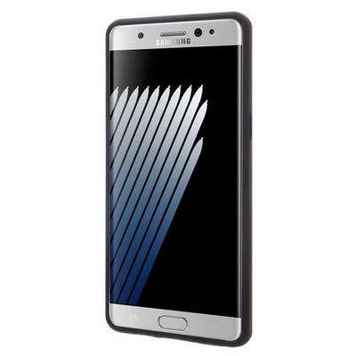 Microsonic Samsung Galaxy Note 7 Kılıf Slim Heavy Duty Siyah Cep Telefonu Kılıfı