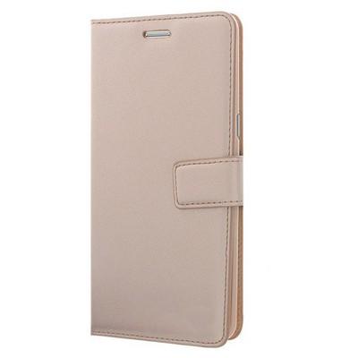 Microsonic Samsung Galaxy Note 7 Kılıf Cüzdanlı Deri Gold Cep Telefonu Kılıfı