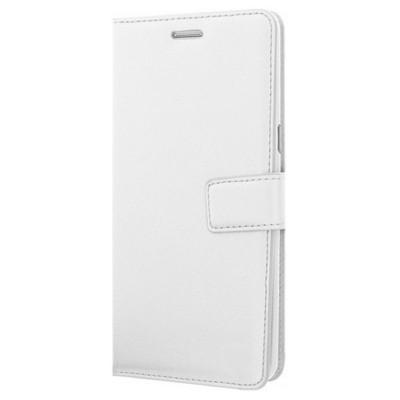 Microsonic Samsung Galaxy Note 7 Kılıf Cüzdanlı Deri Beyaz Cep Telefonu Kılıfı