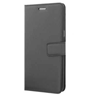 Microsonic Samsung Galaxy Note 7 Kılıf Cüzdanlı Deri Siyah Cep Telefonu Kılıfı