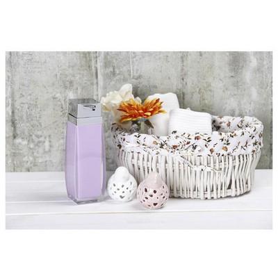 İhouse 3348l Akrilik Sıvı Sabunluk Beyaz Banyo Aksesuarı