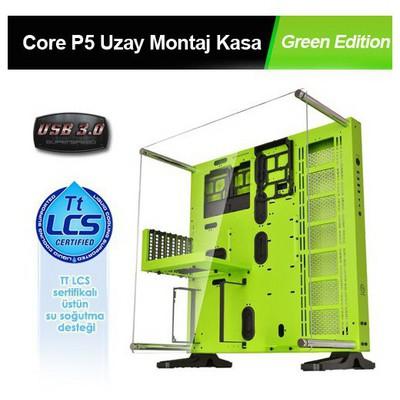 Thermaltake Core P5 Green Edition Uzay Montaj Yeşil/Siyah USB 3.0 Kasa