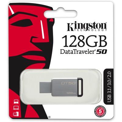 Kingston 128GB DataTraveler 50 USB Bellek (DT50/128GB)