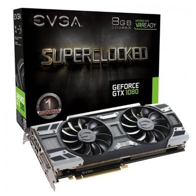 Evga Geforce Gtx 1080 8gb 256bit Gddr5x Pcı-e 3.0 Ekran Kartı
