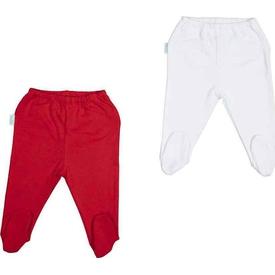 Bebepan 1710 Mr.fish 2'li Bebek Patikli Pantolon Orjinal Renk 0 Ay (50-56 Cm) Pantolon & Şort
