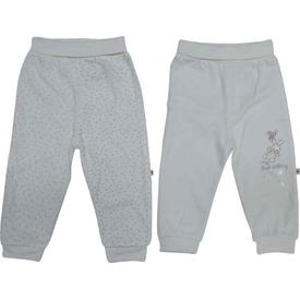 Caramell Apk2654 First Rabit 2 Li Bebek Pantolon Ekru 6-9 Ay (68-74 Cm) Pantolon & Şort