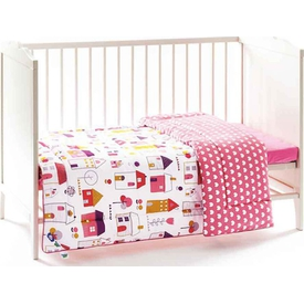 Funna Baby 8104 My Sweet Home Bebek Yatak Örtüsü Yorgan