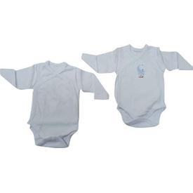 Caramell 2589 Bebek 2 Li Body Beyaz 00 Ay (prematüre) Erkek Bebek Body