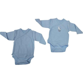 Caramell 2589 Bebek 2 Li Body Mavi 00 Ay (prematüre) Erkek Bebek Body