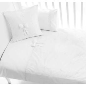 Funna Baby 5303 Premium 4 Parça Bebek Nevresim Takımı Beyaz Nevresim / Pike Takımı