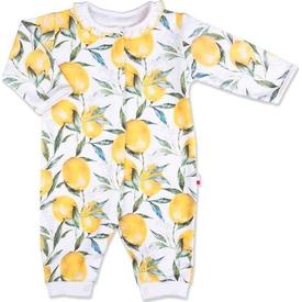 Baby Center S92193 Patiksiz Tulum Krem 6-9 Ay (68-74 Cm) Bebek Tulumu