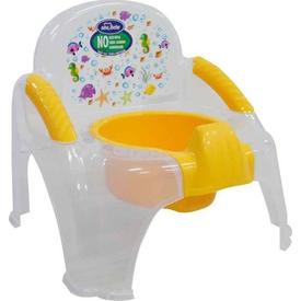 Sevi Bebe 1978 Seffaf Sandalye Bebek Lazımlık Beyaz Tuvalet Eğitimi