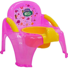 Sevi Bebe 1978 Seffaf Sandalye Bebek Lazımlık Pembe Tuvalet Eğitimi