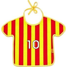 Babyjem 193 Bebek Taraftar Önlük Sarı-kırmızı Bebek Besleme