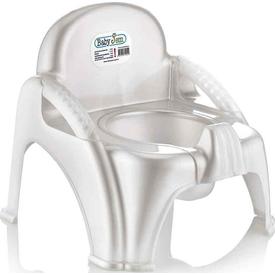 Babyjem Art-004 Afacan Bebek Lazımık Beyaz Tuvalet Eğitimi