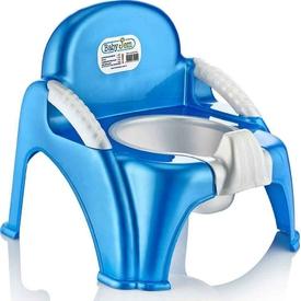 Babyjem Art-004 Afacan Bebek Lazımık Mavi Tuvalet Eğitimi