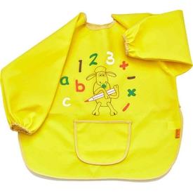Babyjem 049 Faaliyet Önlüğü Kollu Sarı Bebek Besleme
