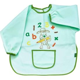 Babyjem 049 Faaliyet Önlüğü Kollu Yeşil Bebek Besleme