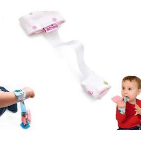 Babyjem Art-308 Çıngırak Tutucu Pembe Bebek Besleme