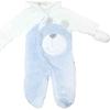 premom-1020a-ayicikli-welsoft-bebek-kozmonotu-krem-mavi-3-6-ay-62-68-cm