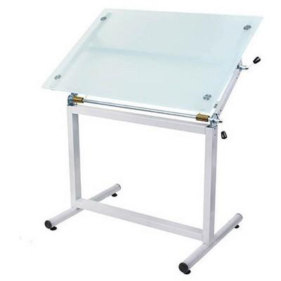 Panda 912 Prof. Çizim Masası Ayaklı Camlı 80 X 120 Cm Çizim Gereçleri