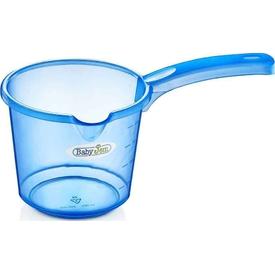 Babyjem Art-332 Bebek Banyo Maşrapa Şeffaf Mavi Maşrapa & Kova