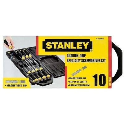 Stanley St265014 10 Parça  Seti Tornavida
