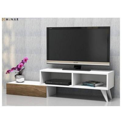 Minar Active Tv Ünitesi - Beyaz/İstanbul TV Ünitesi