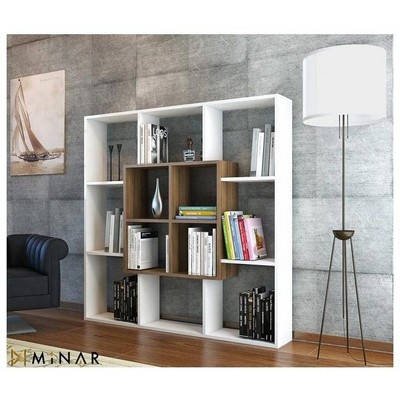 Minar Leef Kitaplık - Beyaz/İstanbul Mobilya