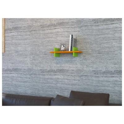 Minar Mira Duvar ı - Turuncu - Yeşil Raf