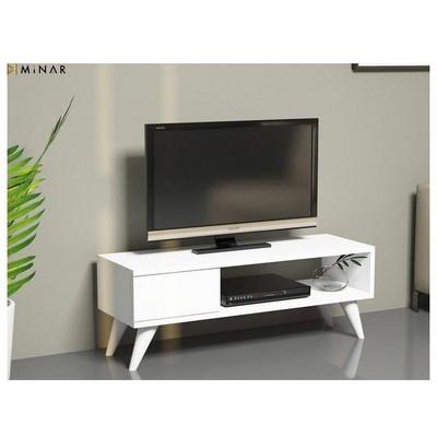 Minar Maya Tv Sehpası - Beyaz Mobilya