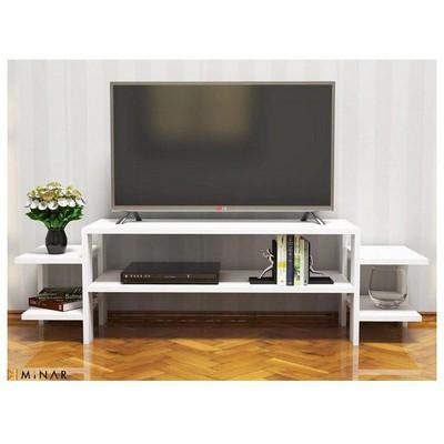 Minar Simple Tv Ünitesi - Beyaz Mobilya