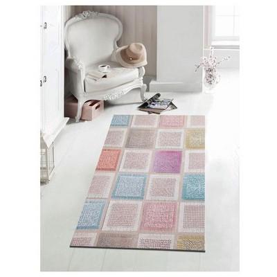 İhouse Hpatch006k Patcwork Kaydırmaz Halı Mozaik Ev Tekstili