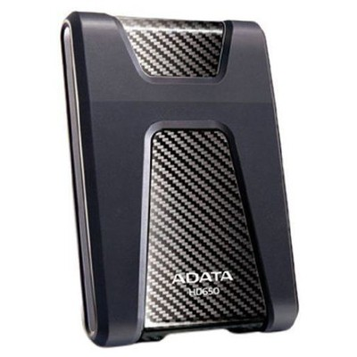 "Adata AHD650-1TU3-CBK 2,5"" 1TB HV650 USB3.0 DARBEYE DAYANIKLI SİYAH Taşınabilir Disk"