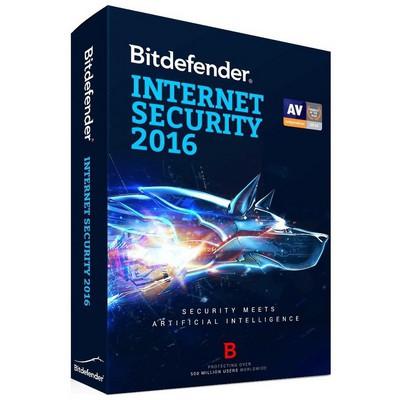 Bitdefender Internet Security 2016 10 Kul./1 Yıl Güvenlik Yazılımı