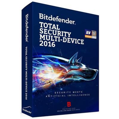 Bitdefender Total Sec. Multi-device 2016 5 Kul.1 Y Güvenlik Yazılımı