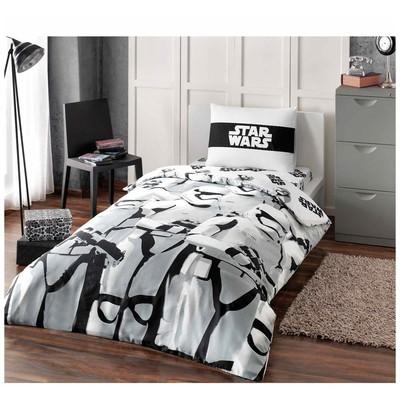 Taç Lisanslı Starwars Stormtroopers Nevresim Takımı Tek Kişilik Ev Tekstili
