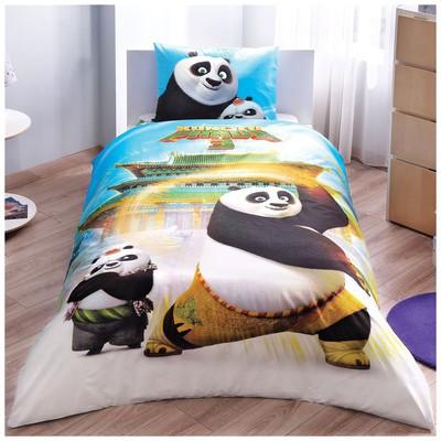 Taç Kung Fu Panda Movie  Tek Kişilik Nevresim Takımı