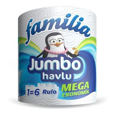 Familia Jumbo Rulo 560 Yaprak Kağıt Havlu