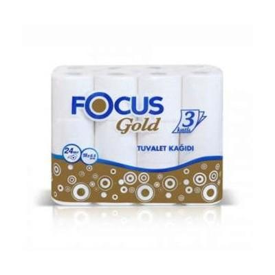 Focus Gold Tuvalet Kağıdı 24 Adet
