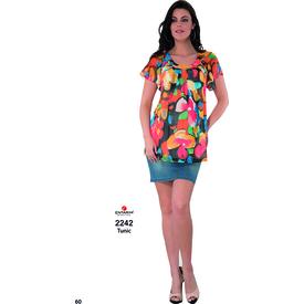 Entarim Hamile Şifon Bluz Oranj 40 Gömlek, Bluz, Tunik