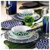 Kütahya Porselen 9133 Desen Kahve Fincanı Ve Tabağı Çay Seti