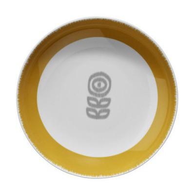 Kütahya Porselen 9129 Desen 21 Cm Çukur Tabak
