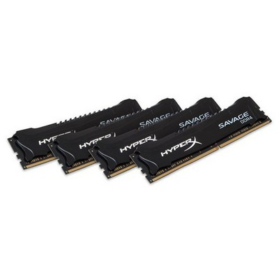 Kingston HyperX Savage 4x8GB Bellek - HX424C12SB2K4/32
