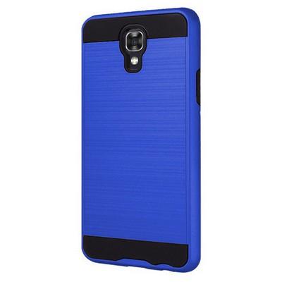 Microsonic Lg X Screen Kılıf Slim Heavy Duty Mavi Cep Telefonu Kılıfı